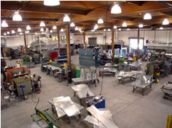 ROLOK Product's 35,000 Sq. Sheet Metal Shop